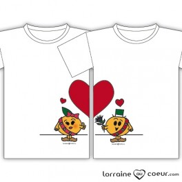 T-shirts - Duo Couple Amoureux Lorrains