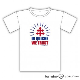 T-shirt - In Quiche We Trust