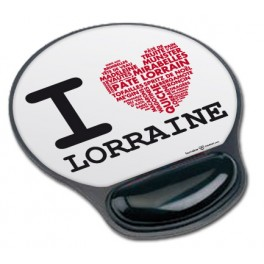 Tapis de souris I Love Lorraine