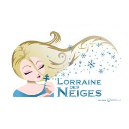 Carte postale - Lorraine des Neiges