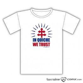 T-shirt - In Quiche We Trust
