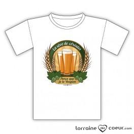 T-shirt - Parce que je le Vosgien