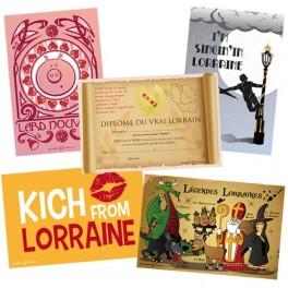 Lot de 5 cartes postales Collection Lor'N Cool