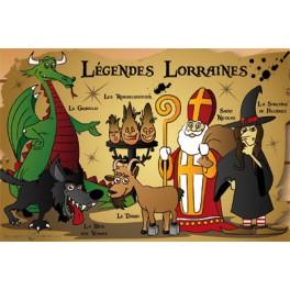 Carte postale - Légendes Lorraines